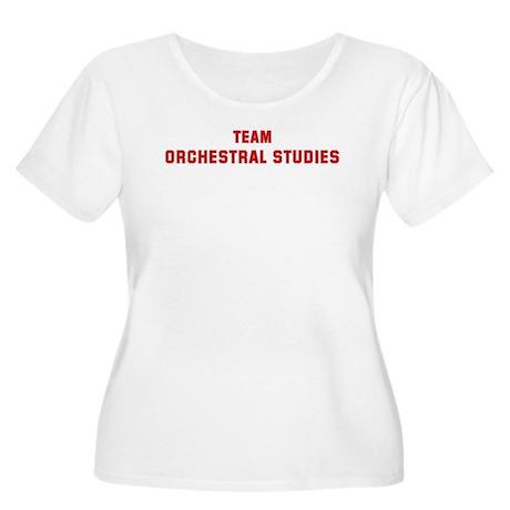 Team ORCHESTRAL STUDIES Women's Plus Size Scoop Ne