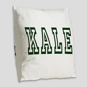 KALE 2 Burlap Throw Pillow
