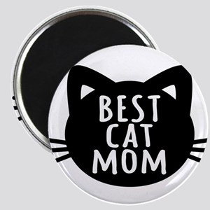 Best Cat Mom Magnets