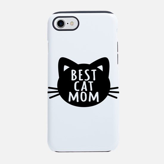 Best Cat Mom iPhone 7 Tough Case
