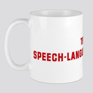 Team SPEECH-LANGUAGE PATHOLOG Mug