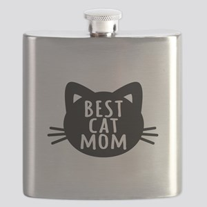 Best Cat Mom Flask