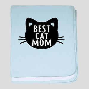 Best Cat Mom baby blanket