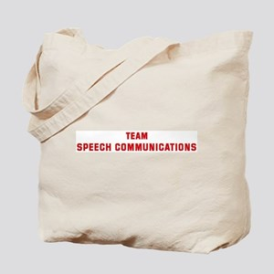 Team SPEECH COMMUNICATIONS Tote Bag