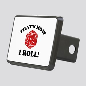 That's How I Roll! Rectangular Hitch Cover