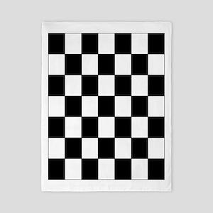 Checkered Pattern Twin Duvet