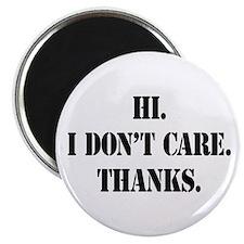 Hi. I Don't Care. Thanks. (4) 2.25