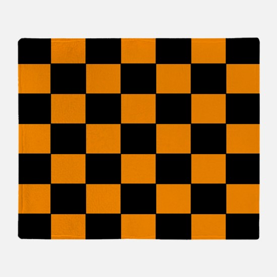 Checkered Pattern Throw Blanket