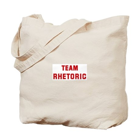 Team RHETORIC Tote Bag