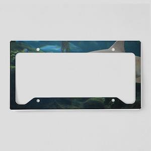 Killer Shark License Plate Holder