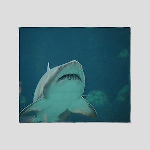 Shark Predator Throw Blanket
