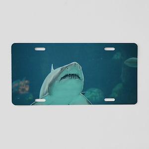 Shark Predator Aluminum License Plate