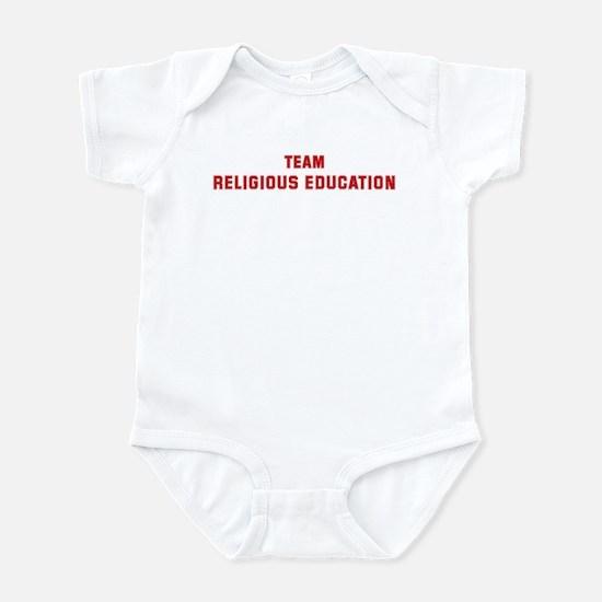 Team RELIGIOUS EDUCATION Infant Bodysuit