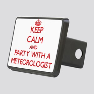 Keep Calm and Party With a Meteorologist Hitch Cov