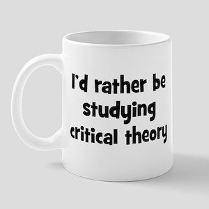 Study critical theory Mug