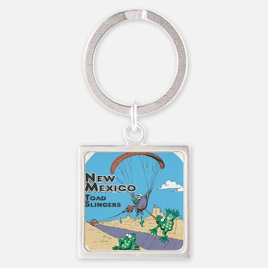 NMToadSlingers Square Keychain