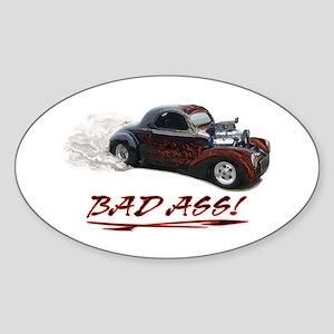Hot Rod Design Sticker