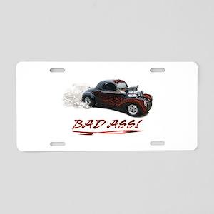 Hot Rod Design Aluminum License Plate