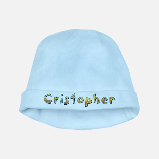 Cristopher Giraffe baby hat