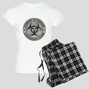 Zombie Outbreak Response Te Women's Light Pajamas