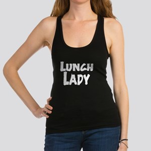 lunch_lady_01 Racerback Tank Top
