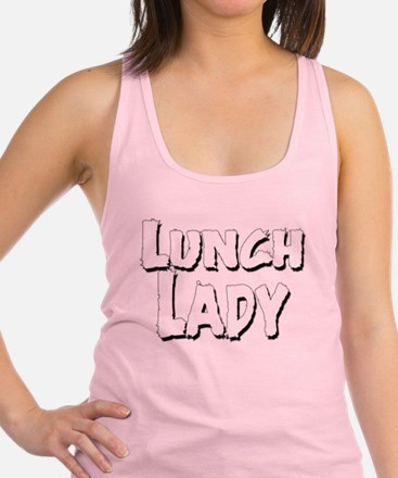 Lunch_Lady_01.Png Racerback Racerback Tank Top