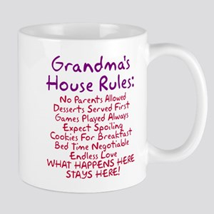 Grandma's House Rules Mug