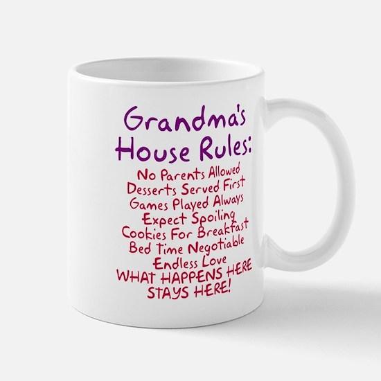 Grandma's House Rules Mug