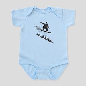 Snowboarder Infant Bodysuit