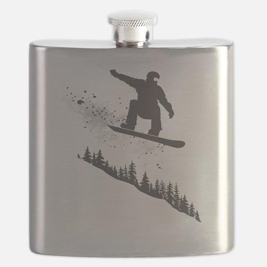 Snowboarder Flask