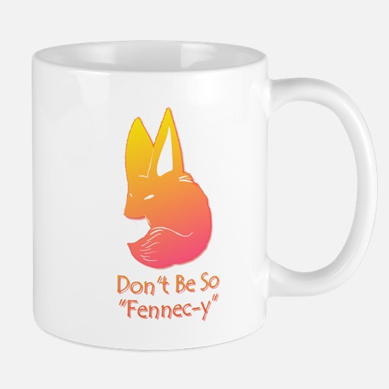 Don't Be So Fennec-y (Sunset) Mugs