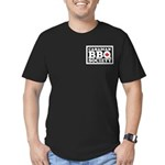 Canadian BBQ Society - Men's Fitted T-Shirt (Dark)