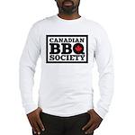 Canadian BBQ Society - Black T Long Sleeve T-Shirt