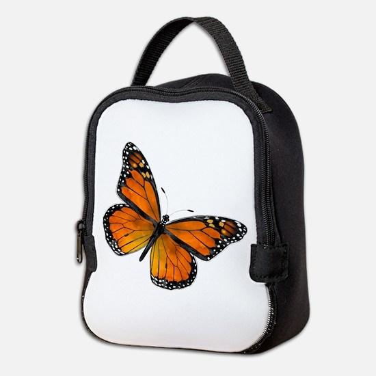 Monarch Butterfly Neoprene Neoprene Lunch Bag
