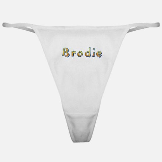 Brodie Giraffe Classic Thong