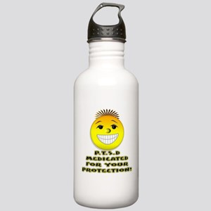P.T.S.D. Medicated Water Bottle