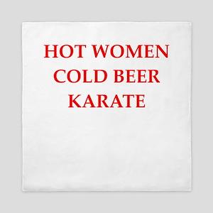karate Queen Duvet