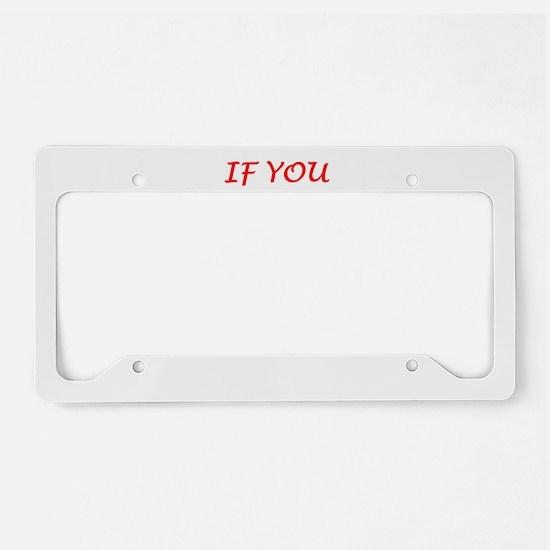 dojo License Plate Holder
