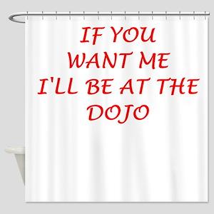 dojo Shower Curtain