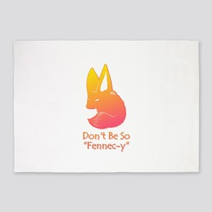 Don't Be So Fennec-y (Sunset) 5'x7'Area Rug