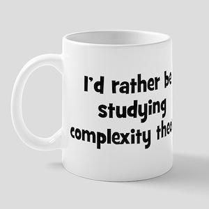 Study complexity theory Mug