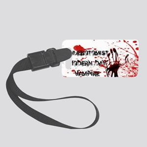 Modern day vamp Small Luggage Tag