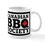 Canadian BBQ Society - Black Text Mugs