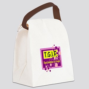 T.G.I.F. Canvas Lunch Bag