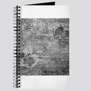 Black White Abstract Vintage Watermark Texture Bac