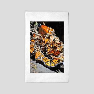 Monarch Butterflies 2 3'x5' Area Rug