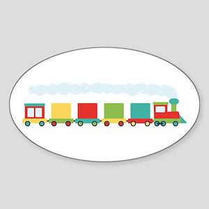 Toy Train Sticker