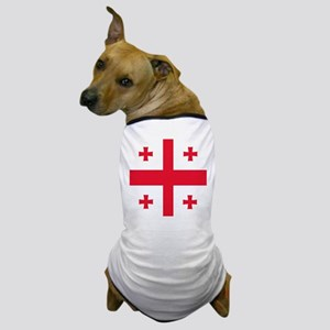 Flag of Georgia Dog T-Shirt