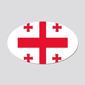 Flag of Georgia Wall Sticker