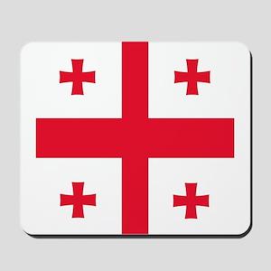 Flag of Georgia Mousepad